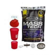 MuscleTech Mass Tech 2.2 Lbs 1000g with Bottle