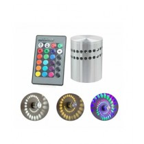 Muzamil Store 3W Spiral RGB LED Light