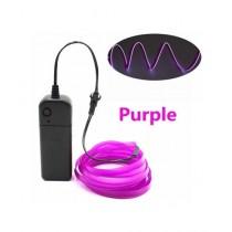 Muzamil Store Flexible 9ft Neon LED Strip Light Purple