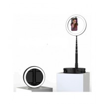 Muzamil Store Ring Light With Folding Stand