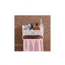 Muzamil Store Suction Cup Bathroom Shelf