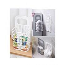 Muzamil Store Wall Hanging Laundry Basket