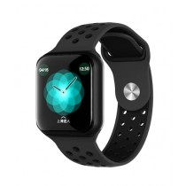 Muzamil Store F8 Smart Fitness Watch Black