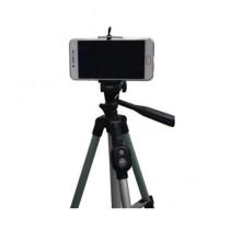 Muzamil Store Portable Mobile And Camera Tripod With Bluetooth Remote Shutter