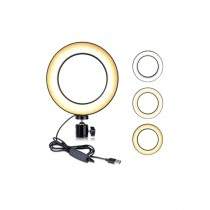 Muzamil Store Ring Light For Professional Live Streaming Black