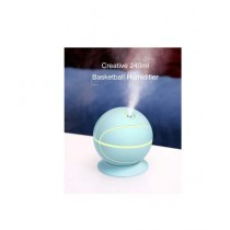 Muzammil Store Rotatable Basketball Shaped Air Humidifier Blue