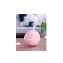 Muzammil Store Rotatable Basketball Shaped Air Humidifier Pink