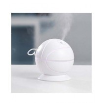 Muzammil Store Rotatable Basketball Shaped Air Humidifier White