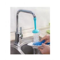 Muzammil Store Adjustable Plastic Tap Water Shower
