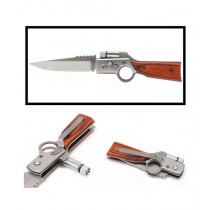 Muzammil Store Folding Knife with LED