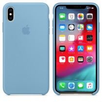 Apple Silicone Cornflower Case For iPhone XS Max