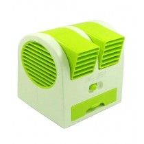 MZ Communication Portable Cooler Fan Green