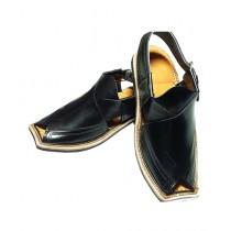 Nawabi Juta Peshawar Sandal For Men Black (0014)