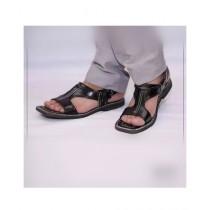 Nawabi Juta Stylish Sandal For Men Black (0004)