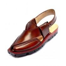 Nawabi Juta Upper Stitch Norozi Sandal For Men Mustard (0007)