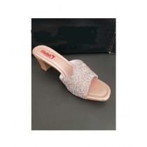 Nayab's Rogue Women's Shimmery Heel Rose Gold