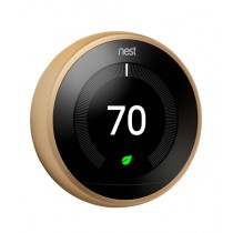 Nest Learning Thermostat 3rd Generation Brass