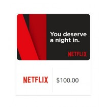 Netflix Gift Card $100 - Email Delivery