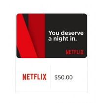 Netflix Gift Card $50 - Email Delivery