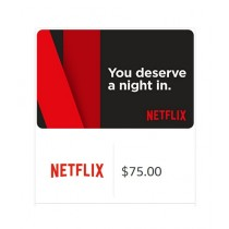 Netflix Gift Card $75 - Email Delivery