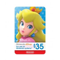 Nintendo eShop Gift Card $35 - Switch / Wii U / 3DS - Email Delivery