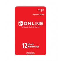 Nintendo Switch Online 12-Month Individual Membership Card - Email Delivery