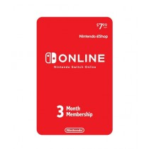 Nintendo Switch Online 3-Month Individual Membership Card - Email Delivery