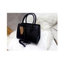 Noor Communication Hand Bag For Women - Black