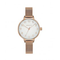 Obaku Syren Rose Women's Watch Rose Gold (V237LXVIMV)