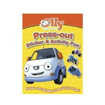 Olly the Little White Van Press-out Sticker & Activity Fun Book