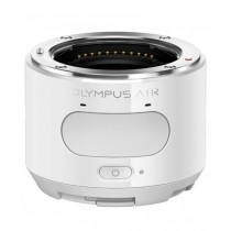 Olympus Air A01 Mirrorless Micro Lens-Style Digital Camera with 14-42mm EZ Lens White