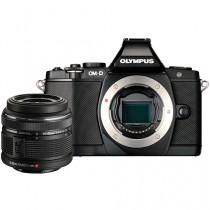 Olympus OM-D E-M5 Mirrorless With 14-42mm Lens - Black