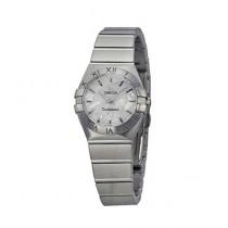 Omega Constellation Quartz Women's Watch Silver (123.10.24.60.05.001)