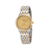 Omega DeVille Prestige Women's Watch Two-Tone (424.20.27.60.58.001)