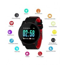 Online Shopping KY08 Smart Fitness Watch Black