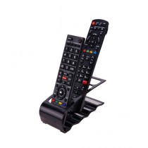 OpShopDeal 4 Layers Remote Holder Black