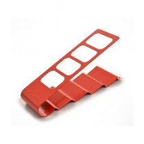 OpShopDeal 4 Layers Remote Holder Red