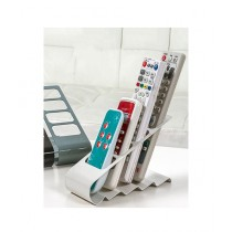 OpShopDeal 4 Layers Remote Holder White