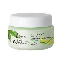 Oriflame Love Nature Mattifying Face Lotion Tea Tree & Lime 50ml (34845)