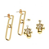 Oriflame Odette Chain Earrings With Exotics Earrings Deal Pack