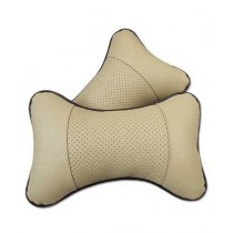 ORO Store Car Seat Head Neck Rest Cushion 2 Pcs (0257)