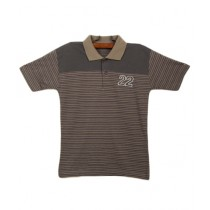 Oxford Cotton Polo T-Shirt For Boys Sage