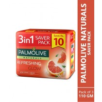 Palmolive Naturals Refreshing Glow Soap 110g Pack Of 3