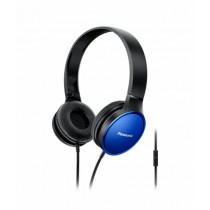 Panasonic Stereo On-Ear Headphones Blue (RP-HF300MGC)