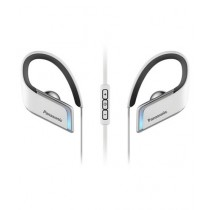 Panasonic Wings Wireless Bluetooth Sport Earbuds White (RP-BTS50-W)