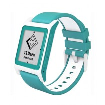 Pebble 2 Heart Rate Smartwatch Aqua/White