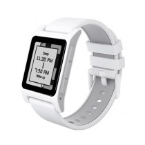 Pebble 2 Heart Rate Smartwatch White