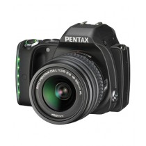 Pentax K-S1 DSLR Camera Black With 18-55mm and 50-200mm Lenses