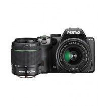 Pentax K-S2 DSLR Camera Black With 18-50mm & 50-200mm Lenses