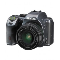 Pentax K-S2 DSLR Camera Stone Gray With 18-50mm Lens
